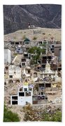 Tombs And Crosses Maimara Argentina Beach Towel