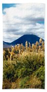 Tongariro National Park New Zealand Beach Towel