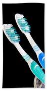 Toothbrush Beach Towel