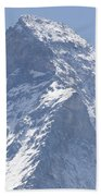 Top Of A Snow-capped Mountain Beach Towel
