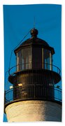 Top Of The Key West Lighthouse  Beach Towel