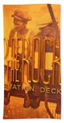 Top Of The Rock Observation Deck Beach Towel
