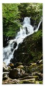 Torc Waterfall Beach Towel