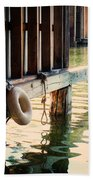 Torch River Bayou Beach Towel by Michelle Calkins
