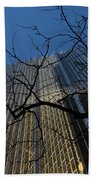 Toronto's Golden Bank - Royal Bank Plaza Downtown Beach Towel