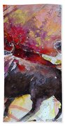 Toroscape 47 Beach Towel by Miki De Goodaboom