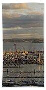 Torquay Panorama Beach Towel