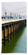 Torquay Princess Pier Devon Beach Towel