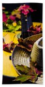 Touch Of Fall  Beach Towel