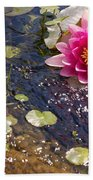 Touch Of Pink Beach Towel