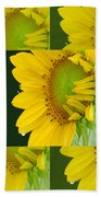 Touch Of Yellow  Beach Towel