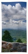 Touch The Clouds  Beach Towel