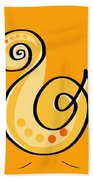 Thoughts And Colors Series Chick Beach Towel
