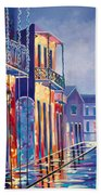 Toulouse At Bourbon New Orleans Beach Towel