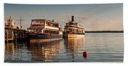 Tour Boats Lake Geneva Wi Beach Towel