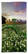 Tour De France Beach Towel by Debra and Dave Vanderlaan