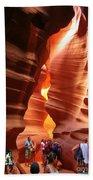 Touring Antelope Canyon Beach Towel
