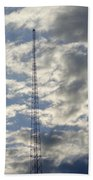 Tower After The Rain Beach Towel