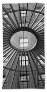 Tower City Center Architecture Beach Towel