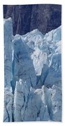 Tower In Margerie Glacier Beach Towel