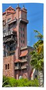 Tower Of Terror Beach Towel by Thomas Woolworth