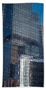 Tower Reflections Beach Towel