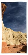 Towering Above The Landscape Beach Towel