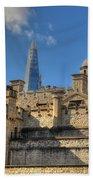 Towers Of London Beach Towel