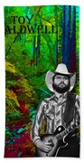 Toy Caldwell In The Woods Beach Towel