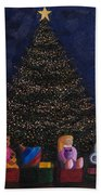 Christmas Toys Beach Towel