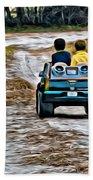 Toy Truck Riders Beach Towel