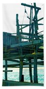 Trabocco 3 - Fishermen Stuff Beach Towel
