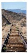 Tracks To Nowhere Beach Towel