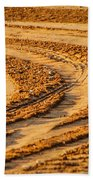 Tractor Tracks Beach Towel