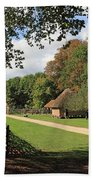 Traditional Countryside Britain Beach Towel