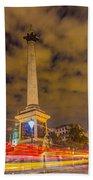 Trafalgar Light Trails Beach Towel