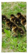 Traffic Jam Beach Towel