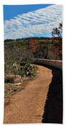 Trail At Reimer's Ranch Beach Towel