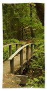 Trail Bridge Toketee 1 Beach Towel