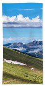 Trail Ridge Road In Rocky Mountain National Park Beach Towel