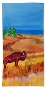 Monarch Of The Plains Beach Towel