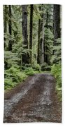 Trail To Jaw Bone Flats Beach Towel