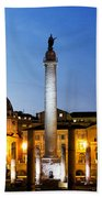 Trajan's Column Beach Towel