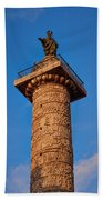 Trajans Column Beach Towel