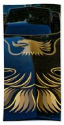 Trans Am Eagle Beach Towel