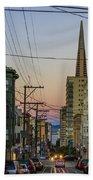 Transamerican Urbanism Beach Towel