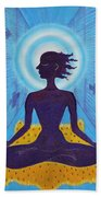 Transcendental Meditation Beach Towel