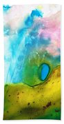 Transformation - Abstract Art By Sharon Cummings Beach Towel by Sharon Cummings
