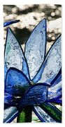 Translucent Blues Beach Towel
