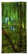 Translucent Forest Reflections Beach Towel